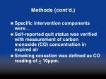 methods cont d2