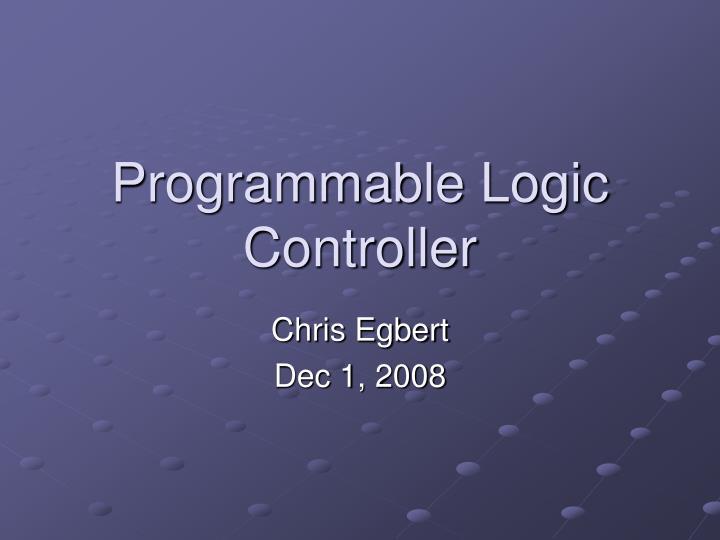 programmable logic controller n.