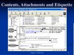 contents attachments and etiquette13