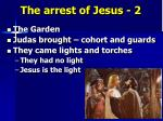 the arrest of jesus 2