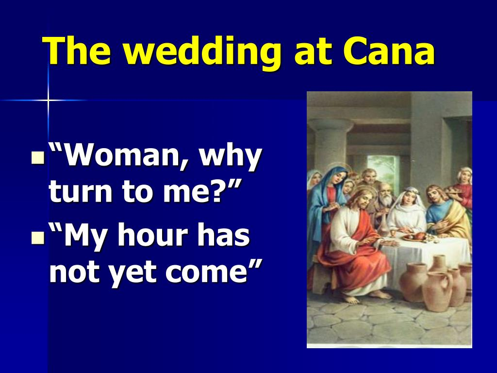 The wedding at Cana