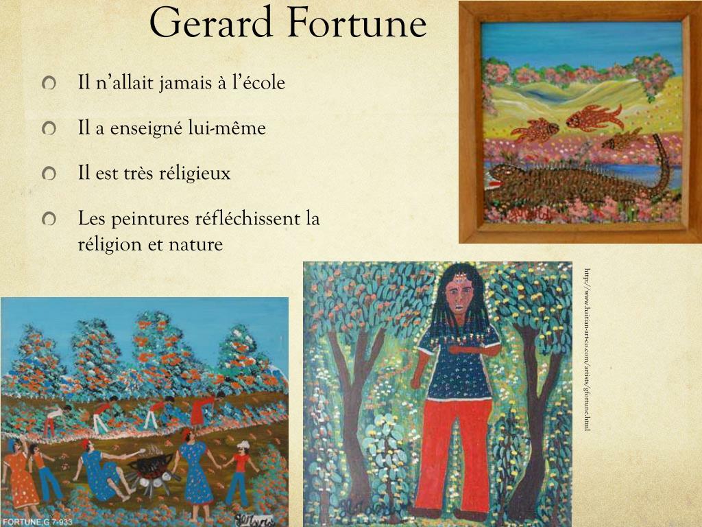 Gerard Fortune
