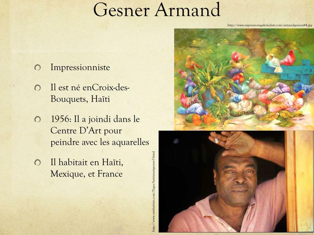 Gesner Armand