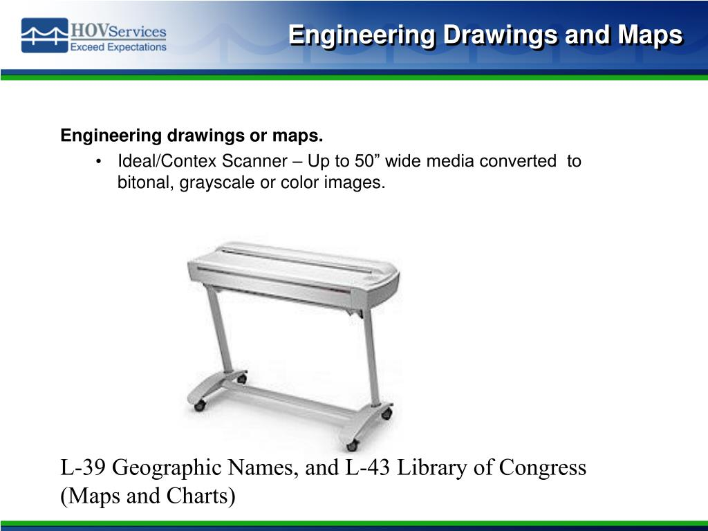 Engineering Drawings and Maps