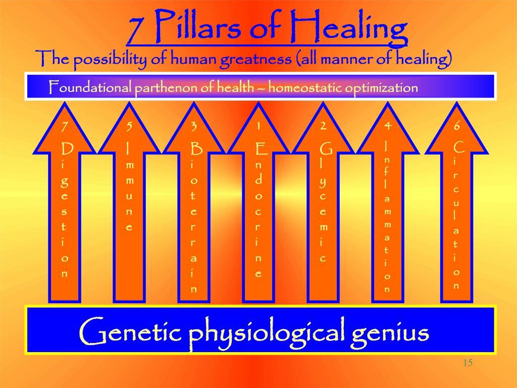 7 Pillars of Healing