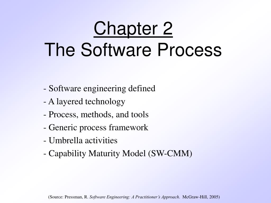 chapter 2 the software process l.