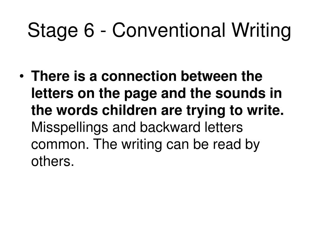 Conventional essay papers