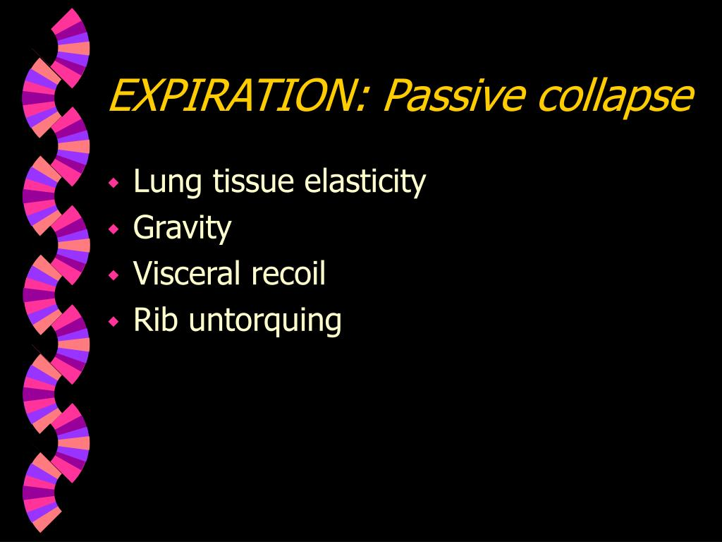 EXPIRATION: Passive collapse