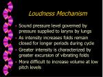 loudness mechanism