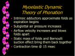 myoelastic dynamic theory of phonation