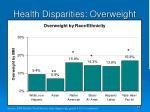 health disparities overweight