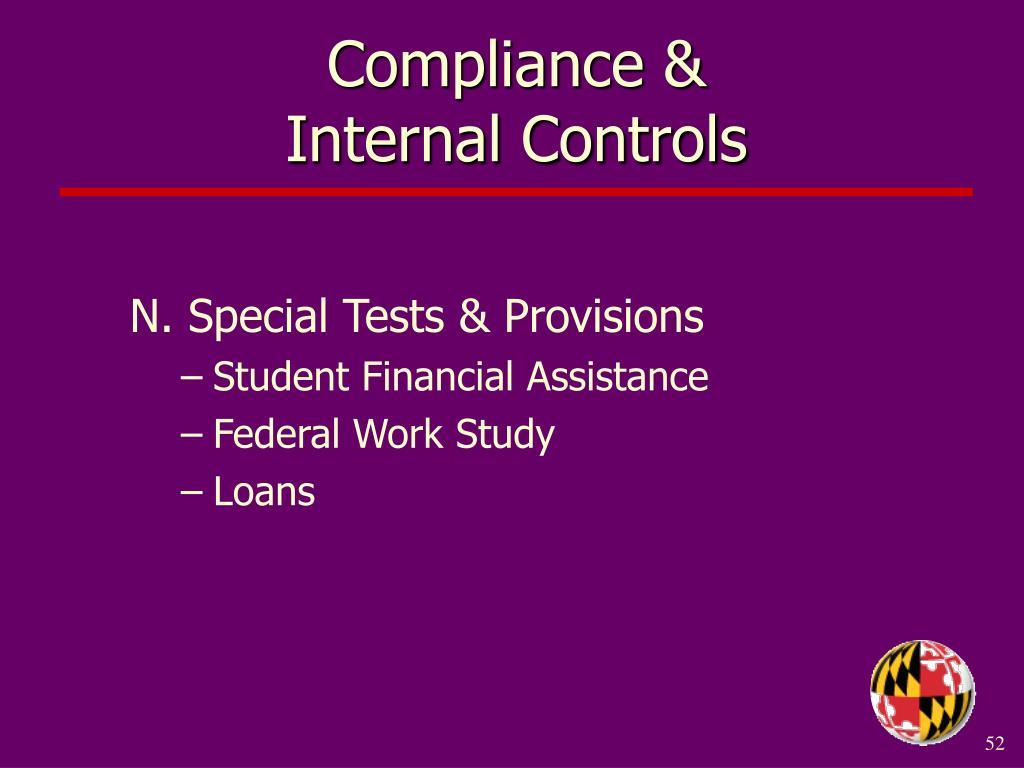 Compliance &