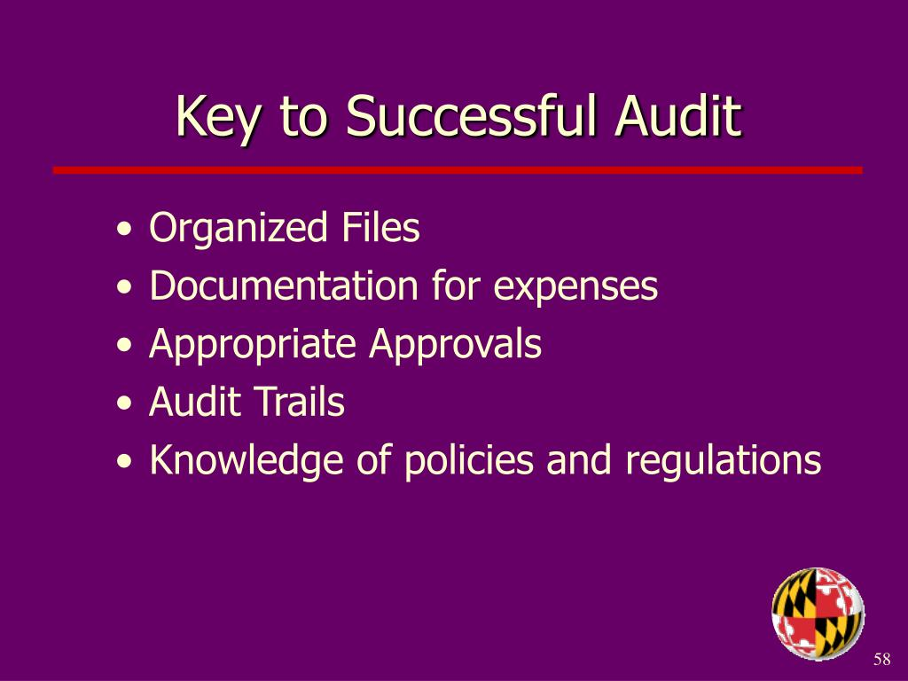 Key to Successful Audit