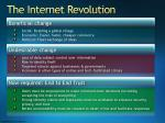 the internet revolution