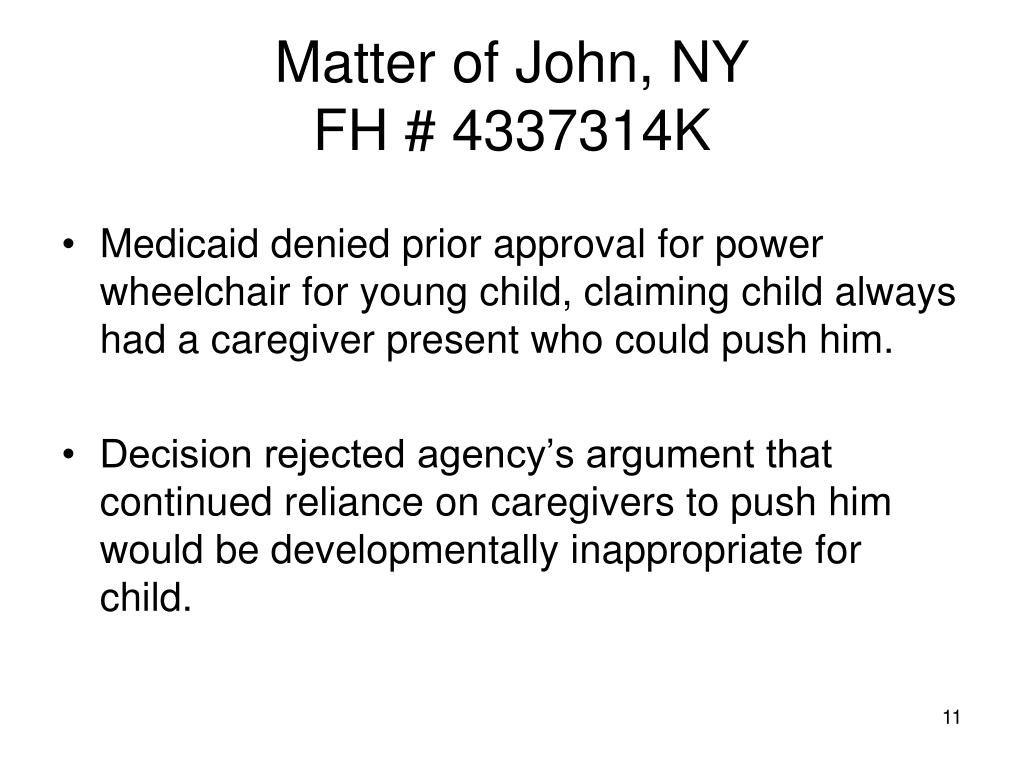 Matter of John, NY