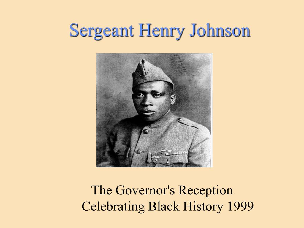 sergeant henry johnson l.