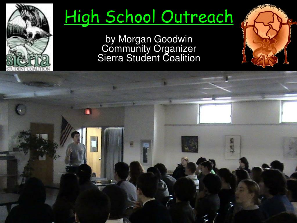 high school outreach l.