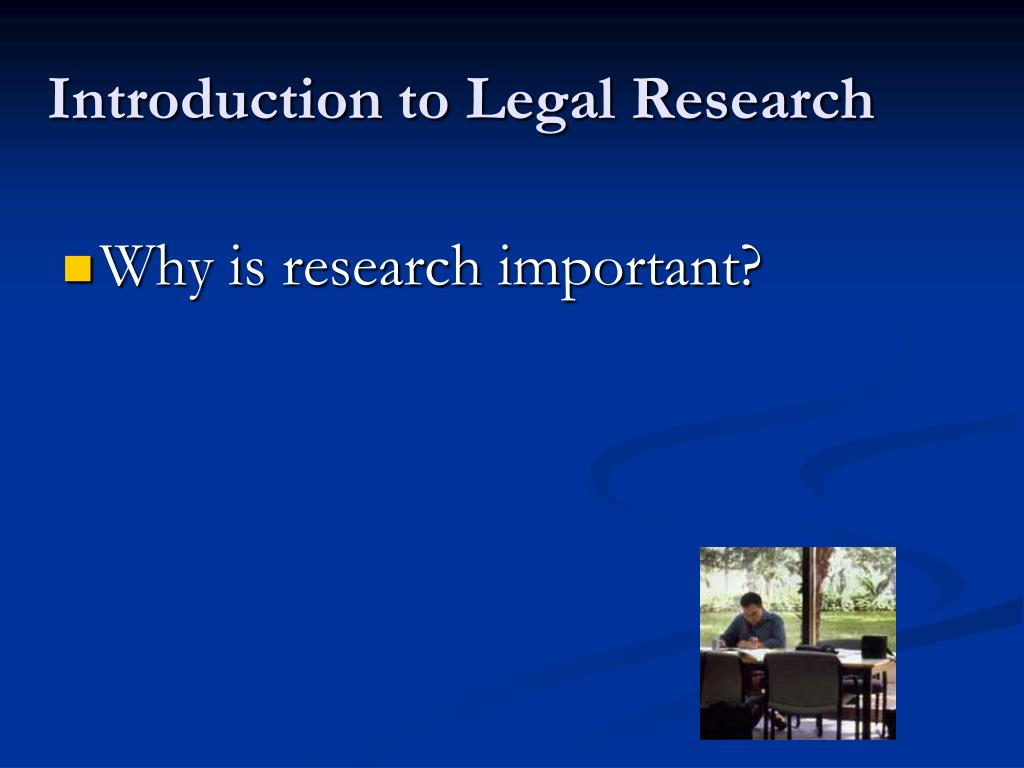 intro to legal research unit 4 Scl 1501 notes study unit 1 –introduction to legal skills i introduction research indicates 35% of message is communicated.