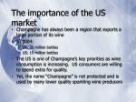 the importance of the us market