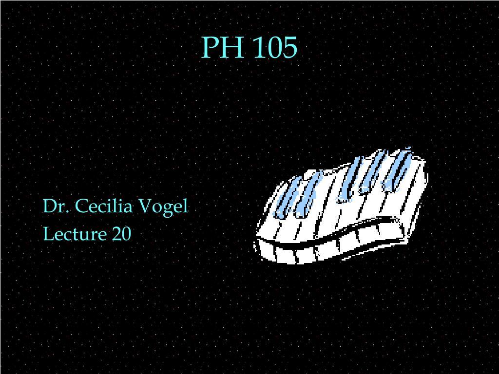 ph 105 l.