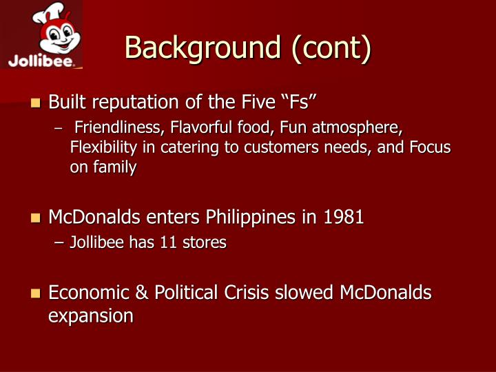 marketing mix of jollibee food corp © 2018 jollibee foods corporation all rights reserved.