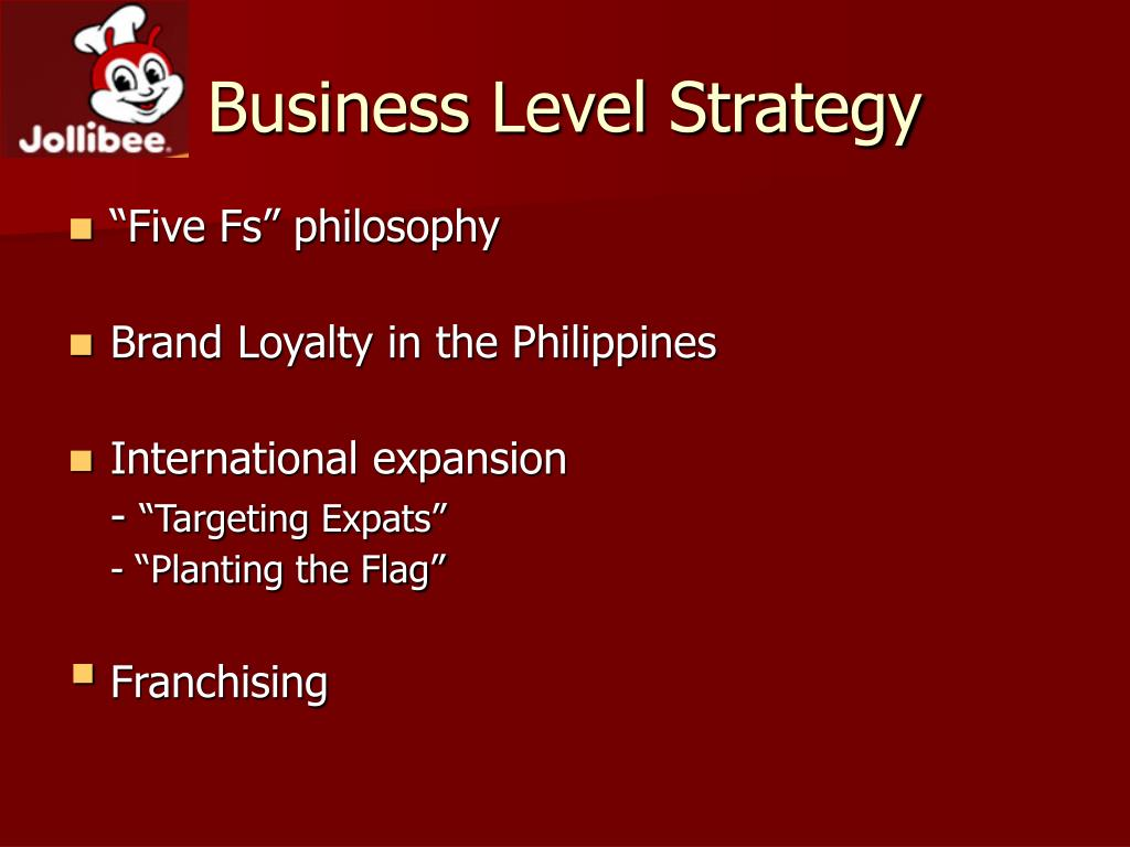 target business level strategy
