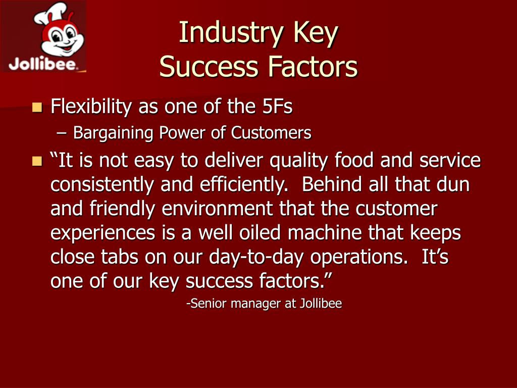 key success factors for bottled water industry