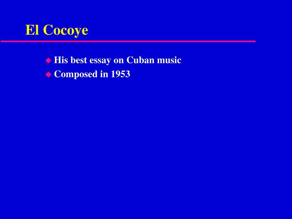 El Cocoye