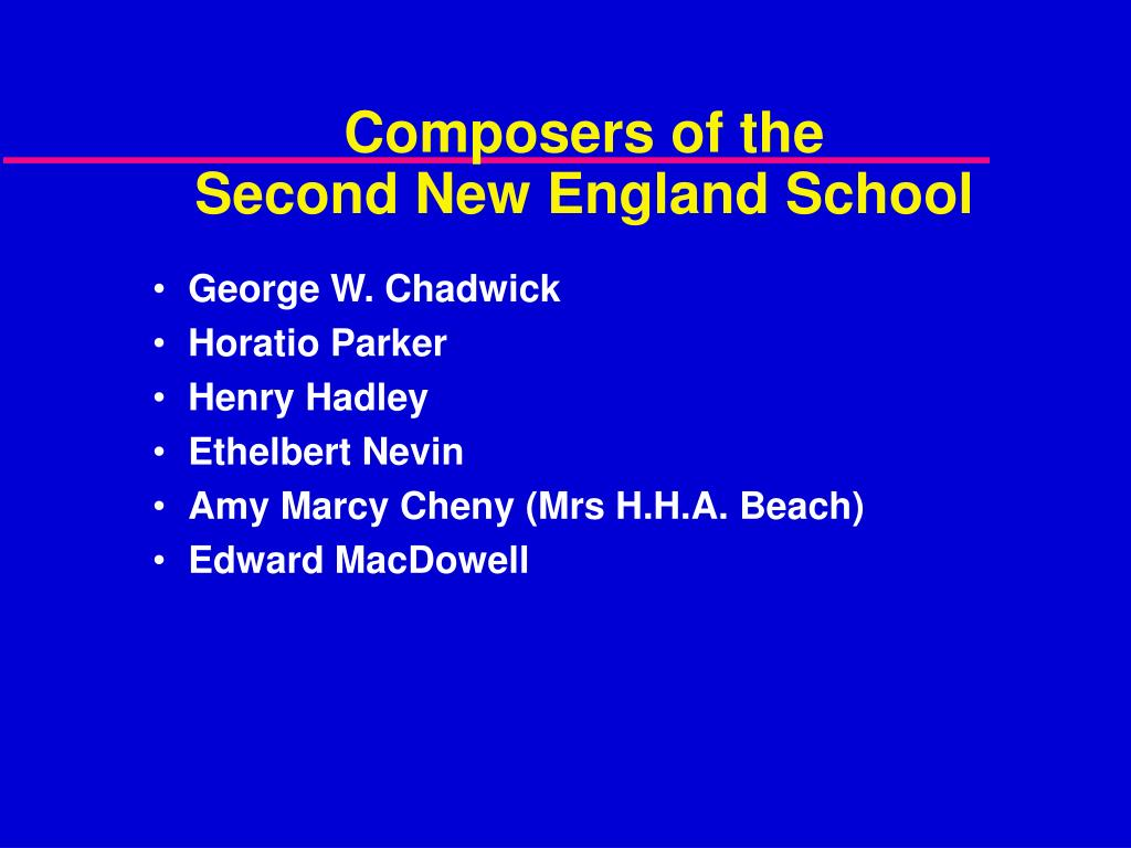 Composers of the