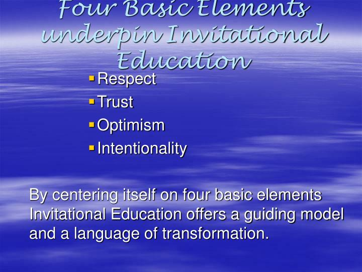 Ppt Extended Schools Provision Invitational Education Powerpoint