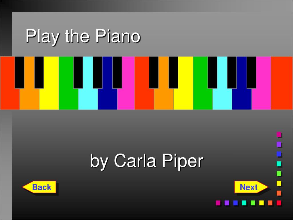play the piano l.