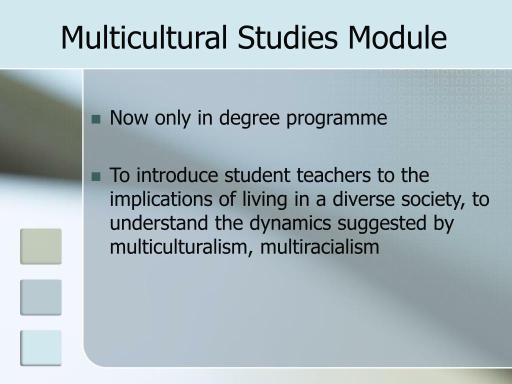 Multicultural Studies Module