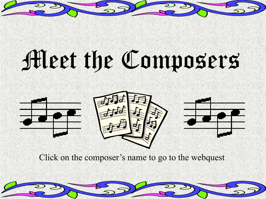 meet the composers l.