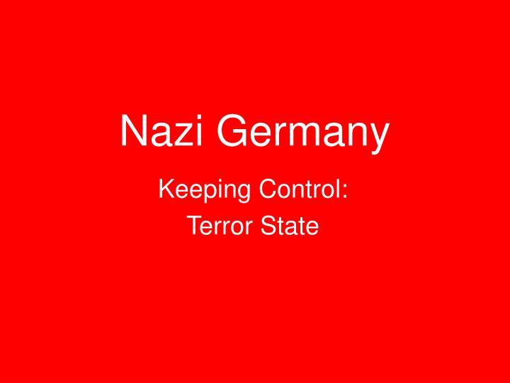 nazi germany n.
