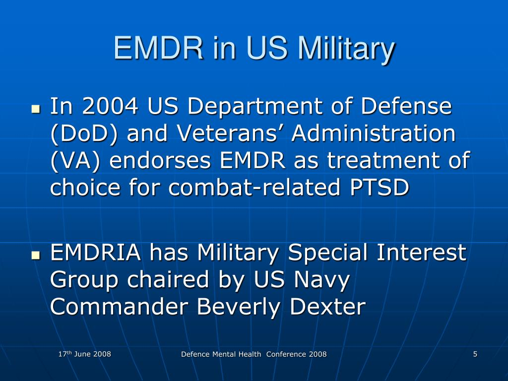 EMDR in US Military