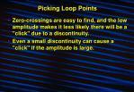 picking loop points12
