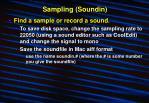 sampling soundin4