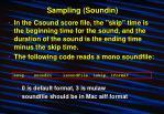 sampling soundin6