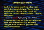 sampling soundin7