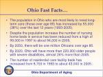 ohio fast facts