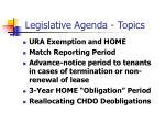legislative agenda topics