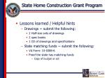 state home construction grant program16