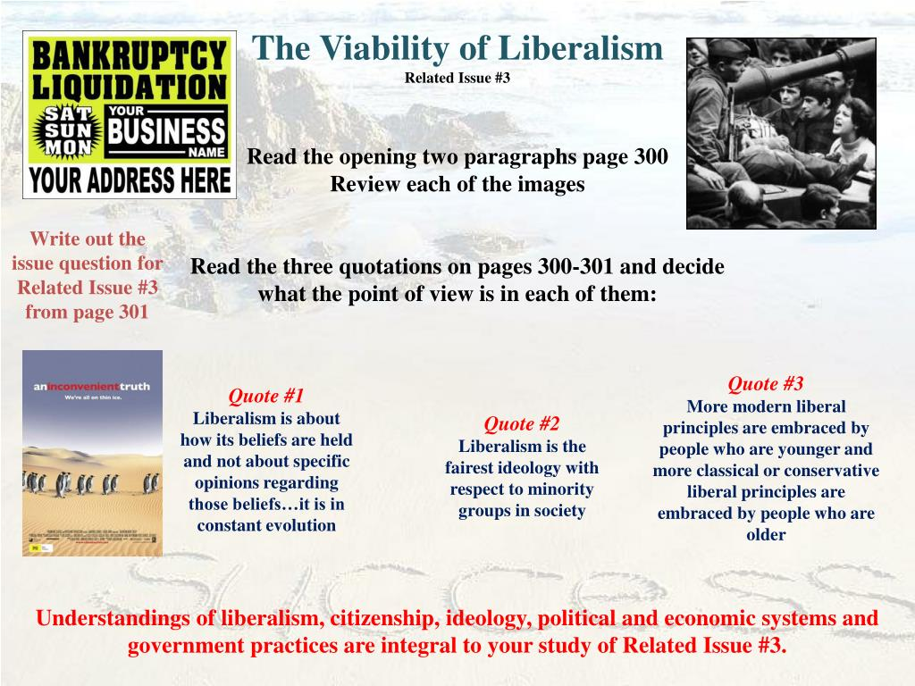 The Viability of Liberalism