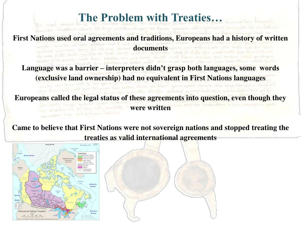 The Problem with Treaties…