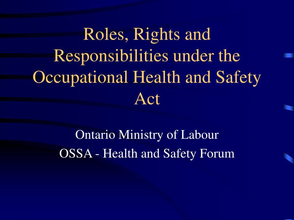 Employment rights & responsibilities presentation.