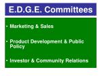 e d g e committees