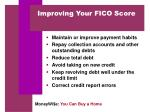 improving your fico score