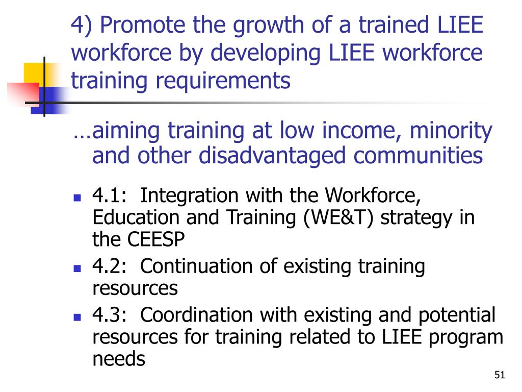 a discussion on workforce training and development methods Training and development to facilitate the discussion and sharing of training the performance of the federal workforce and enhancing the.