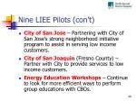 nine liee pilots con t