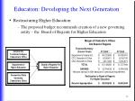 education developing the next generation4